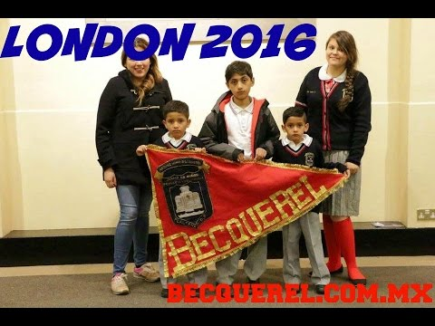 London 2016 Proud to BE Becquerel