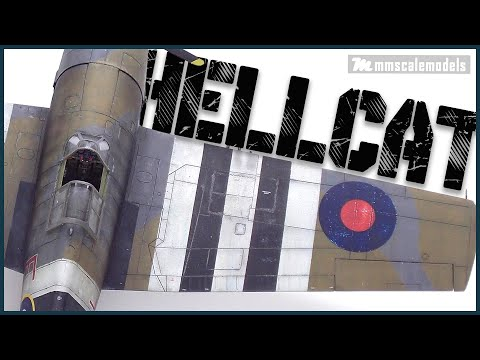 Grumman F6F-3 Hellcat Mk.I Eduard 1:48 WW2 aircraft scale model