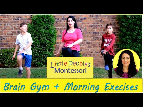 Brain Gym and morning exercises