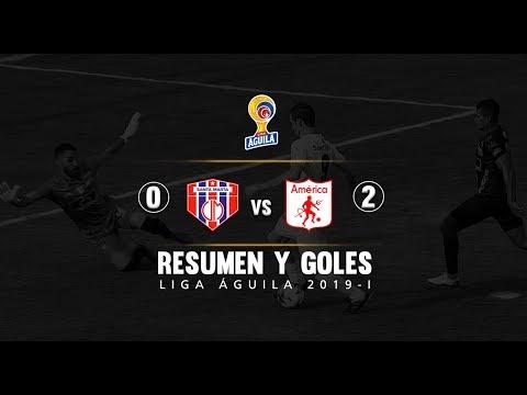 Unión Magdalena vs América: resumen y goles del partido 0-2 Liga Águila 2019 I