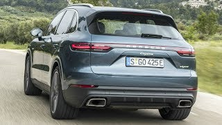 2019 Porsche Cayenne E-Hybrid Biskaya Blue Metallic - Plugs in and Boosts Performance