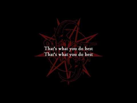 Slipknot - Nero Forte [Lyrics Video]