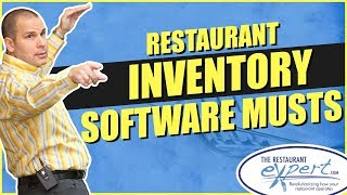 Restaurant Management Tip - What to Look for in Restaurant Inventory Software #restaurantsystems