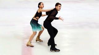Произвольный танец. Танцы. Гран-при Италии. Гран-при по фигурному катанию среди юниоров 2019/20