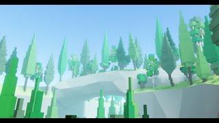 Roblox Studio | Low-poly world | TIMELAPSE #3