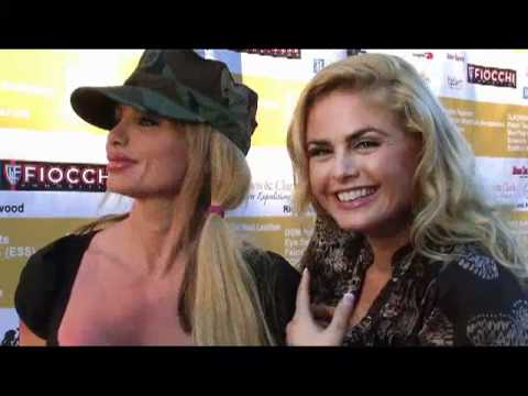 Tia Barr and Taylor Wane at Hollywood Sporting Clays
