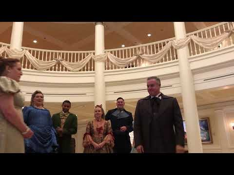 """Sarah's Final (full time) Performance at the Voices of Liberty: """"America the Beautiful""""."""