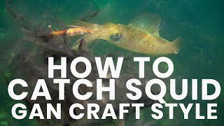 How To Catch Squid - Hooked Up Tv Episode 1