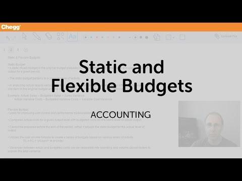 static-and-flexible-budgets-|-accounting-|-chegg-tutors