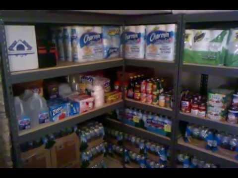 Prepper Food Storage Overview