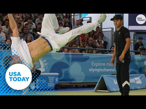 Kristina - Breakdancing Pitched for 2024 Olympics in Paris