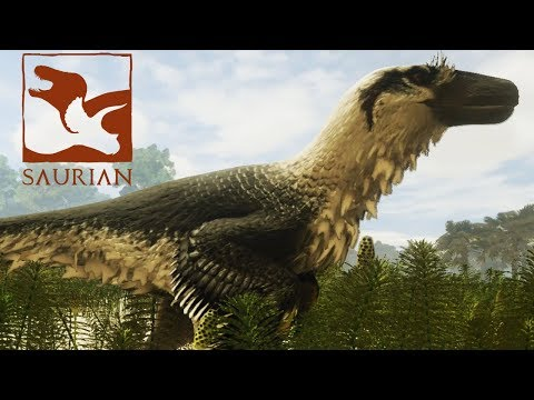 BABY ABUSE! Dakotaraptor Gameplay - Saurian (Early Access)