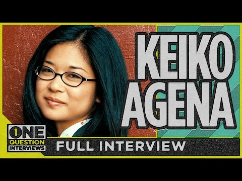 What does Gilmore Girl's Keiko Agena say is harder than it looks?