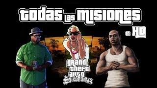 GTA San Andreas PS4 - Todas las Misiones en 1080p