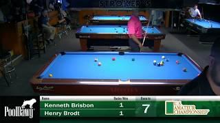 2018 US Amateur Championship - Round 4 - Henry Brodt VS Kenny Brisbon