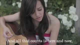 Megan Nicole - Glad You Came - Lyrics On Screen + Download Link