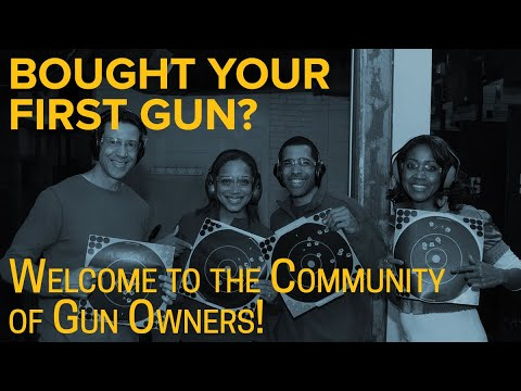 Bought Your First Gun? Welcome to the Community of Gun Owners! | #LetsGoShooting