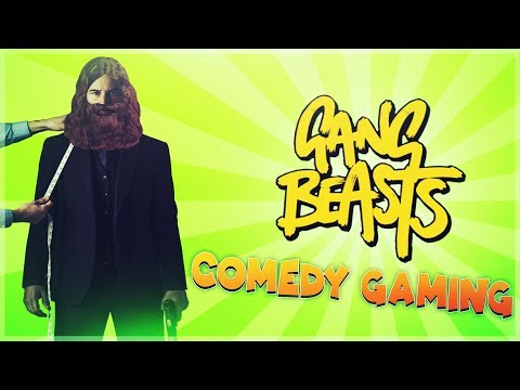 Gang Beasts - Homeless John Wick - Unstoppable Baby - Comedy Gaming