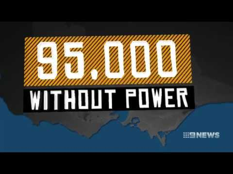 Nine + Seven News. Victoria Fails Energy Supply, Post Coal.(Global Warming Fraud)