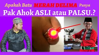 Download Video Apakah Batu MERAH DELIMA Pak AHOK Asli Atau Palsu.? MP3 3GP MP4