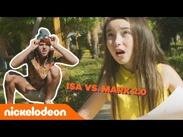 Isa op schattenjacht in Egypte! (met boef Mark Hoekx 😱) | De Viral Fabriek | Nickelodeon Nederlands
