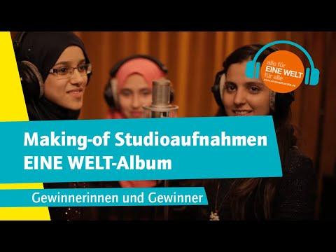 Making-of Studioaufnahmen EINE WELT-Album