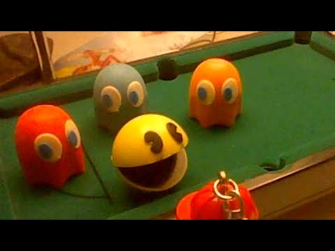 Lego Snooker With Pac-Man