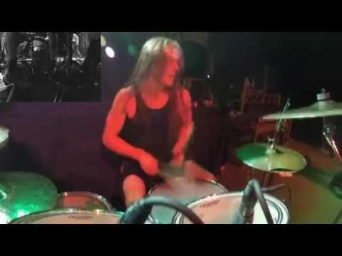 Aeon - Satanic Victory - Emil Wiksten - Drum-cam