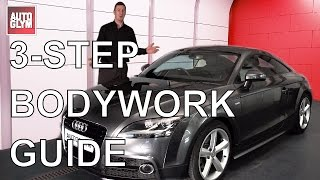 3-Steps to Perfect Vehicle Bodywork