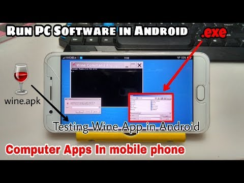 Run PC Softwares In Android Using Wine.apk | Windows Apps In Android Phone | Wine App
