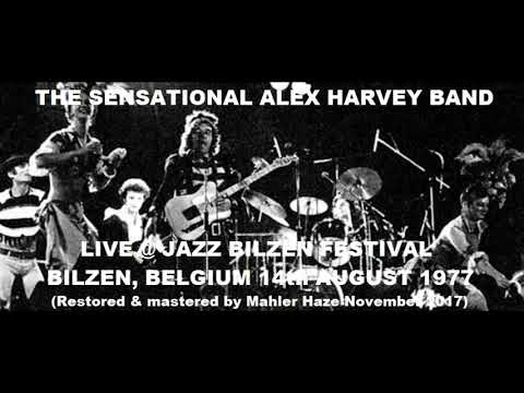 Sensational Alex Harvey Band (Sco) Live @ Jazz Bilzen Festival, Bilzen.Belgium. 14th August 1977