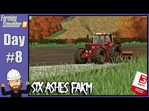 Six Ashes Farm - Day #8 - Spreading Lime & Cutting Our Field In Half |
