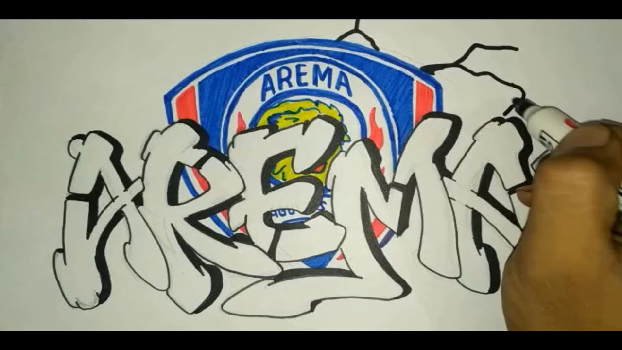 Gambar Check Aremaniaselopurocity Instagram Photos Grafiti Arema