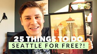 25 ACTUALLY FREE Things To Do In SEATTLE (Travel On The Cheap!)