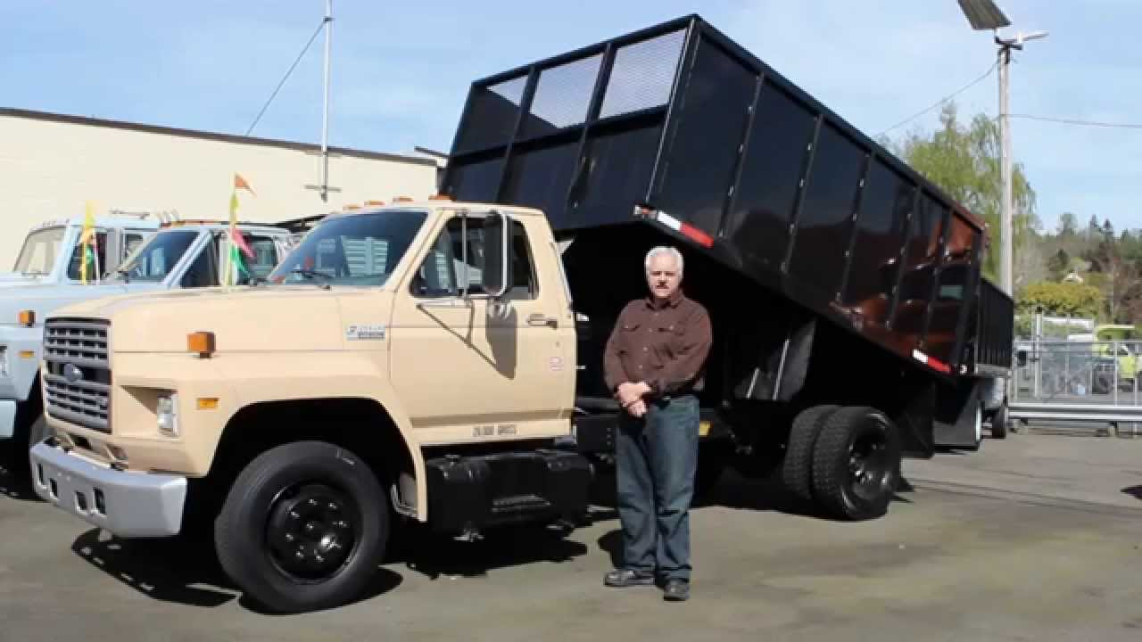 Town and Country Truck # 5653: 1991 FORD F600 12 ft ...