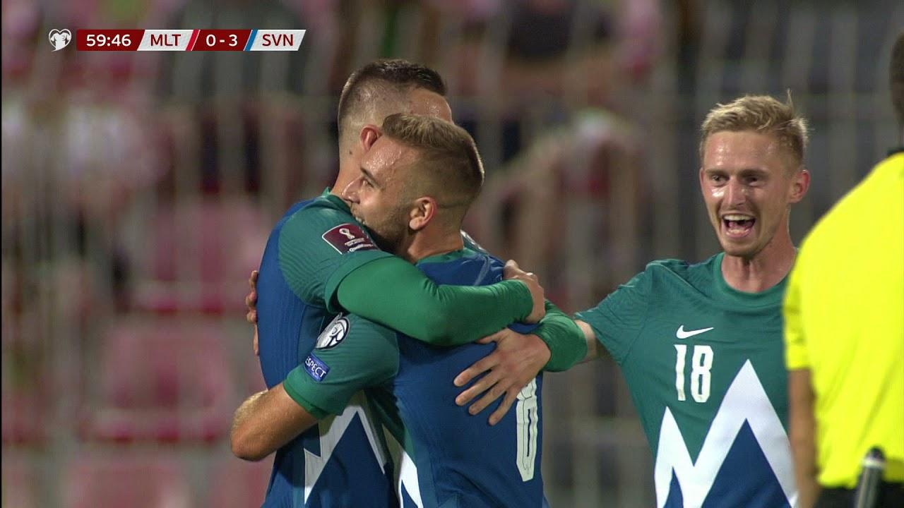Iličić and Šporar scored goals for National A team