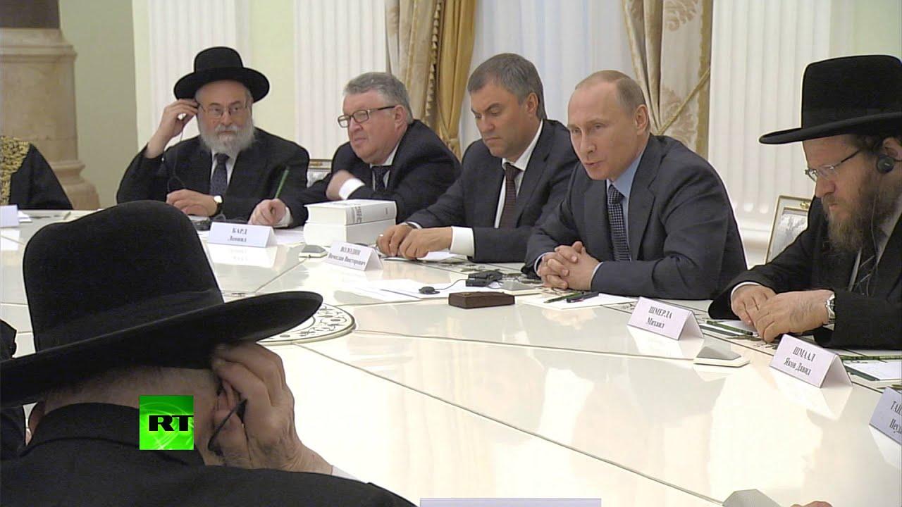 Путин: Объявлять целый народ врагом и уничтожать его — это сознательная политика