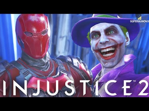 A DEATH IN THE FAMILY! RED HOOD VS THE JOKER - Injustice 2