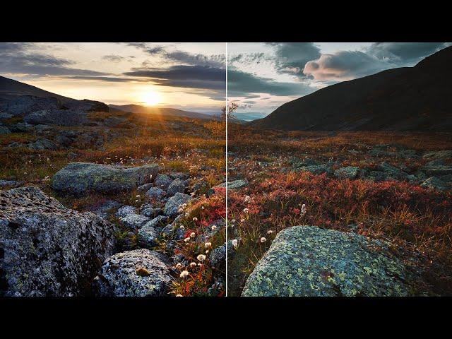 Обработка СТАРОЙ фотографии в НОВОМ стиле   Цветокоррекция в Adobe Lightroom