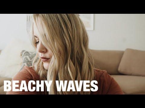 beachy-waves- -hair-tutorial