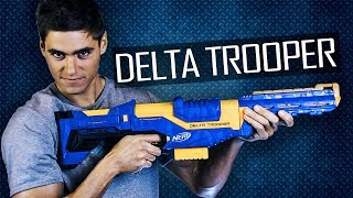 Nerf Delta Trooper - nowy lepszy Retaliator?!? #BeElite