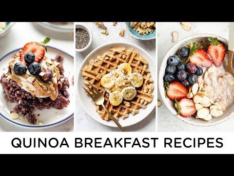 SUMMER BREAKFAST RECIPES ‣‣ healthy quinoa recipes
