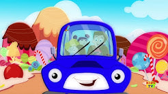 Wheels On The Car | Nursery Rhymes | Baby Rhymes | Car Song | Kids Tv Car Songs For Toddlers