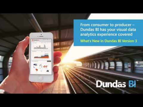 What's New in Dundas BI Version 3.0