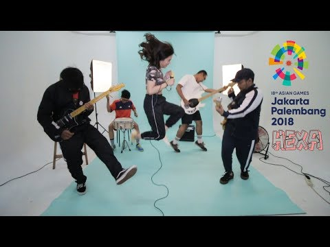HEXA - Bright As The Sun ( Asian Games 2018 Official Song Cover )