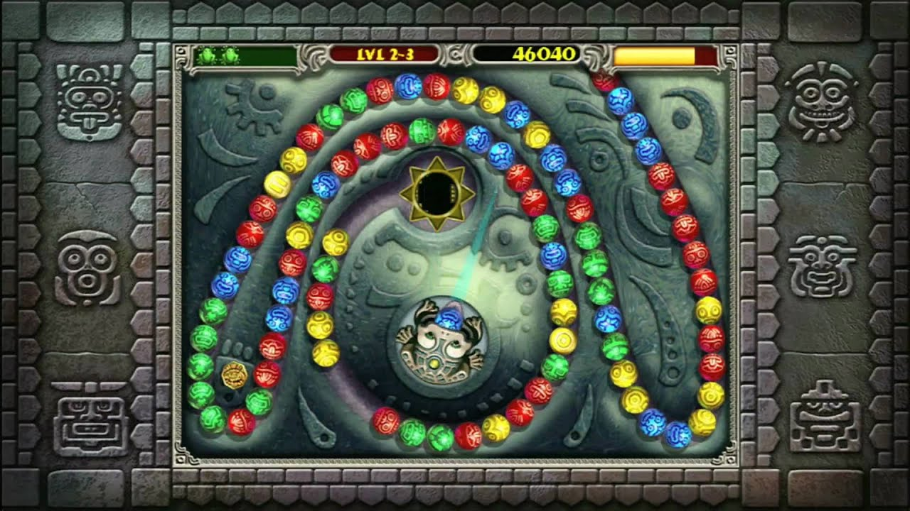 Color zuma game - Classic Game Room Hd Zuma For Xbox 360 Review