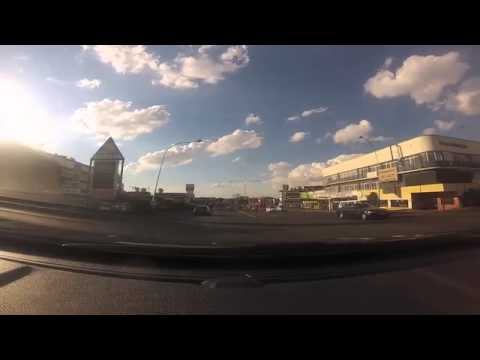 Driving through the streets of Johannesburg in real time video 5