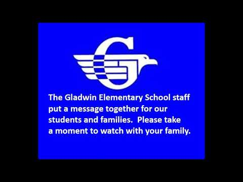 Gladwin Elementary School Message to Families