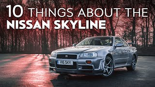 10 Things You Didn't Know About The Nissan Skyline