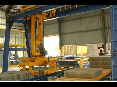 Fully automatic concrete block making machine---REIT RT9A